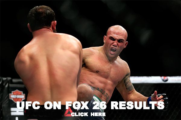 UFC on FOX 26 results (2)