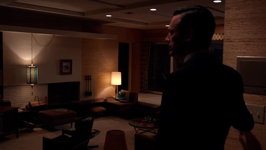 """Don's apartment is an empty, foreboding space in the Mad Men episode """"Severance."""""""