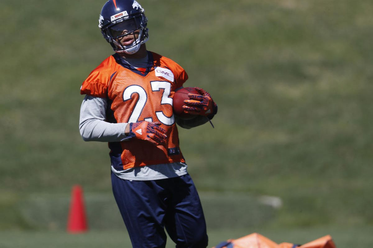 new style ba4c2 a3f41 Former Ute, current Broncos RB Devontae Booker to miss ...