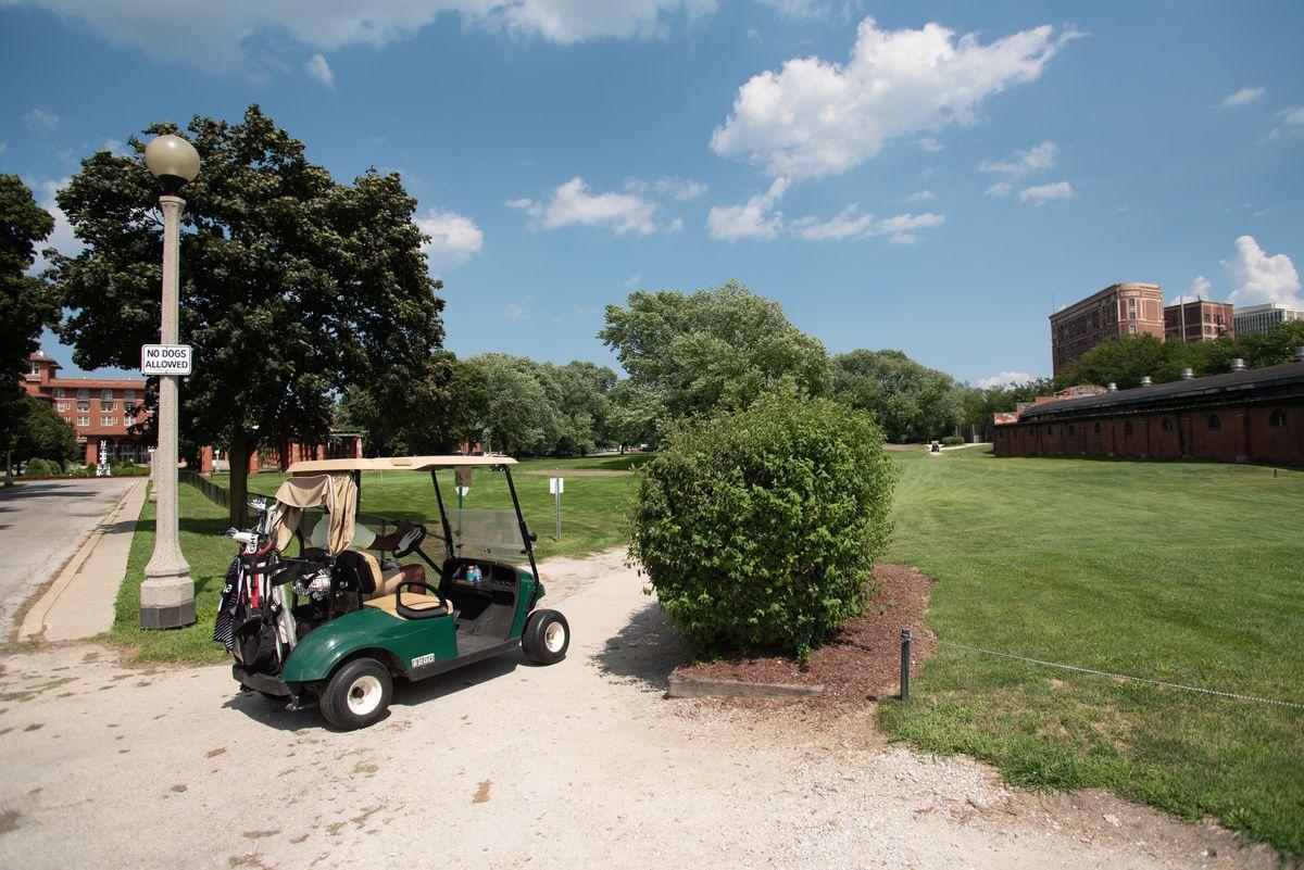 The golf course at the South Shore Cultural Center. | Colin Boyle/Sun-Times