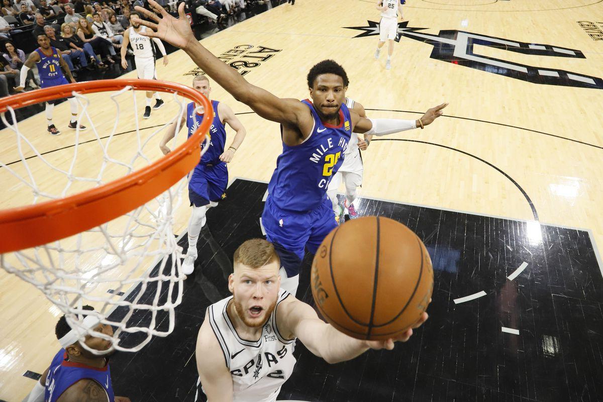 NBA: Playoffs-Denver Nuggets at San Antonio Spurs