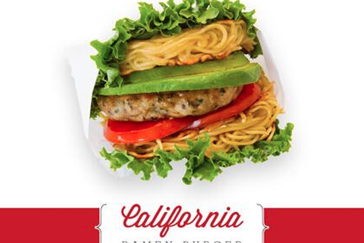 Rakiraki's California ramen burger.