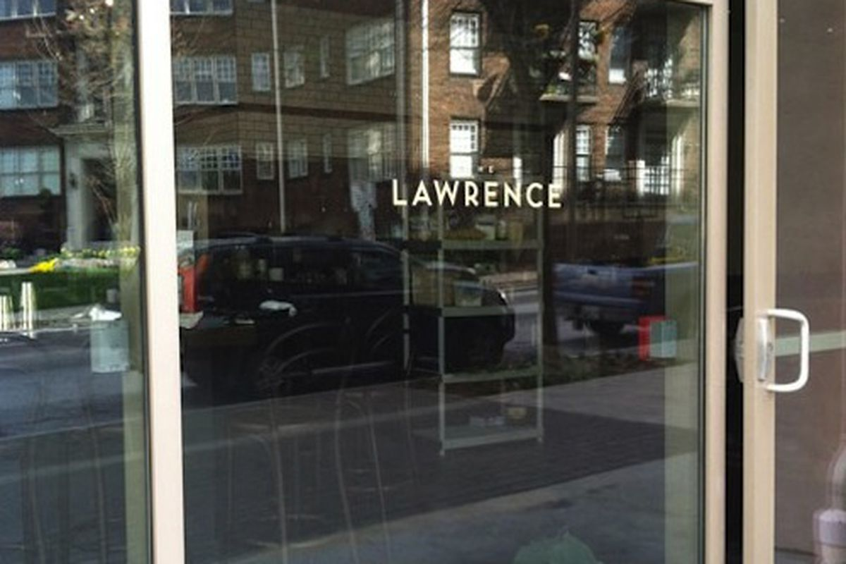 Outside <strong>The Lawrence</strong>. Photo by Chris Francisco.