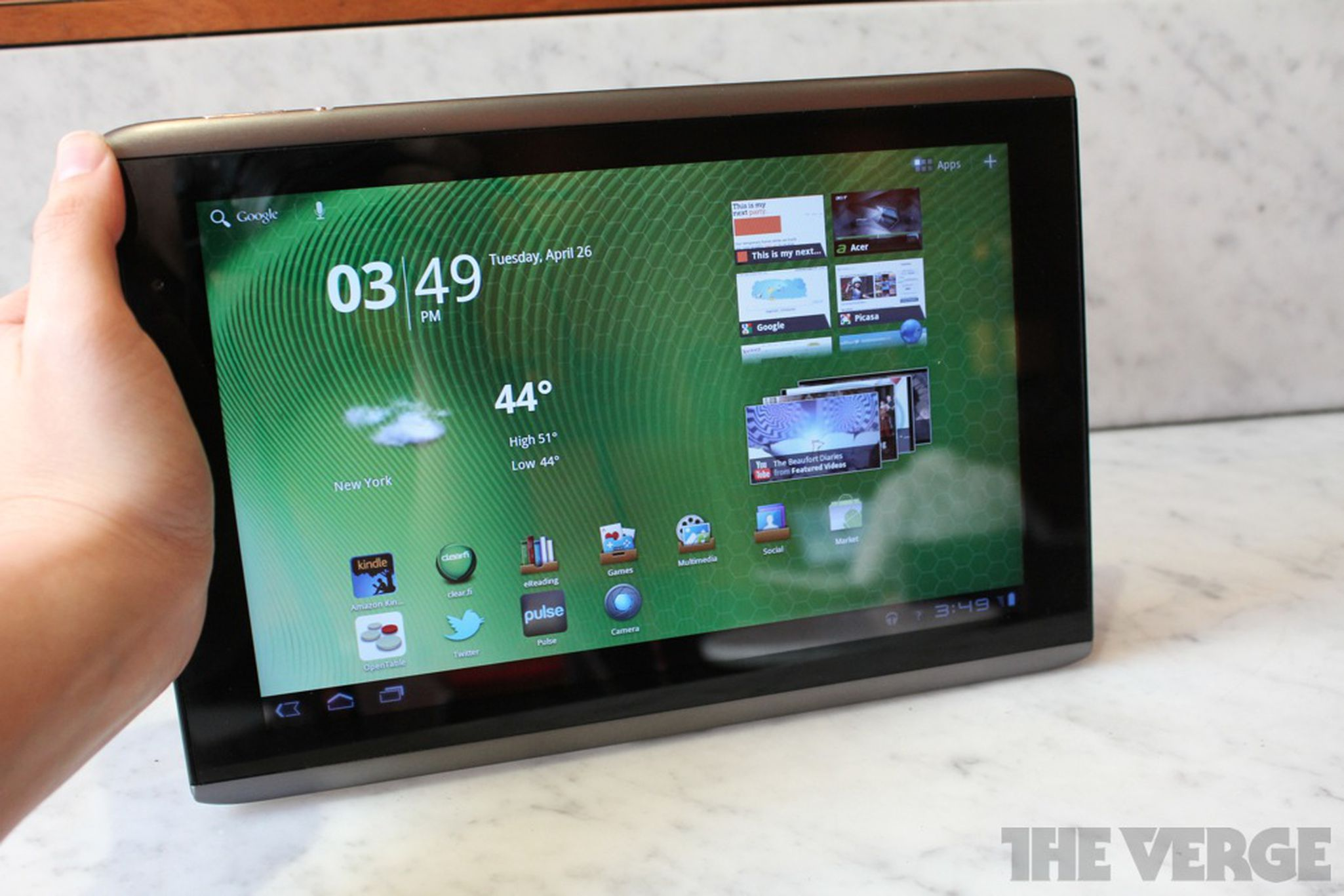 The $450 Iconia A500 costs less than the iPad and the Android competition,  but are the sacrifices worth it?