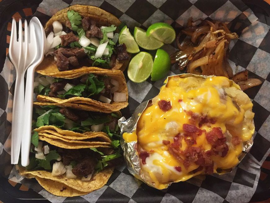 Tacos from Orale Super Tacos