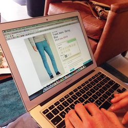 A staffer will walk you through the online ordering process. Orders will be delivered to you within five to seven business days. Heading out of town and need your new suit delivered to your hotel? Bonobos will ship your order wherever you are.