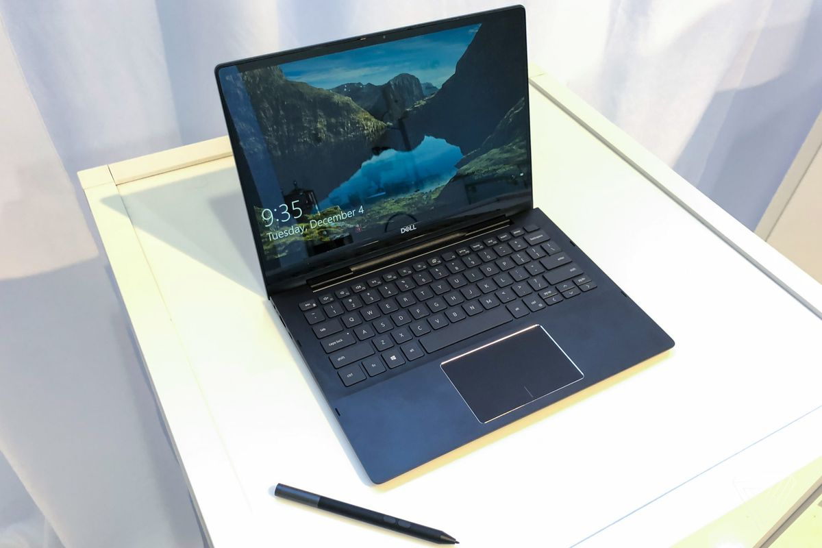 Dell XPS 13 2019: the webcam is finally on top of the screen