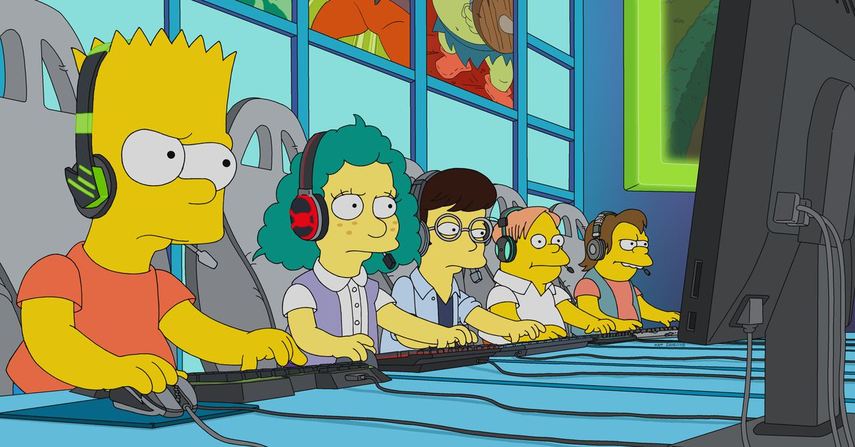 photo of This week's Simpsons focuses on League of Legends image