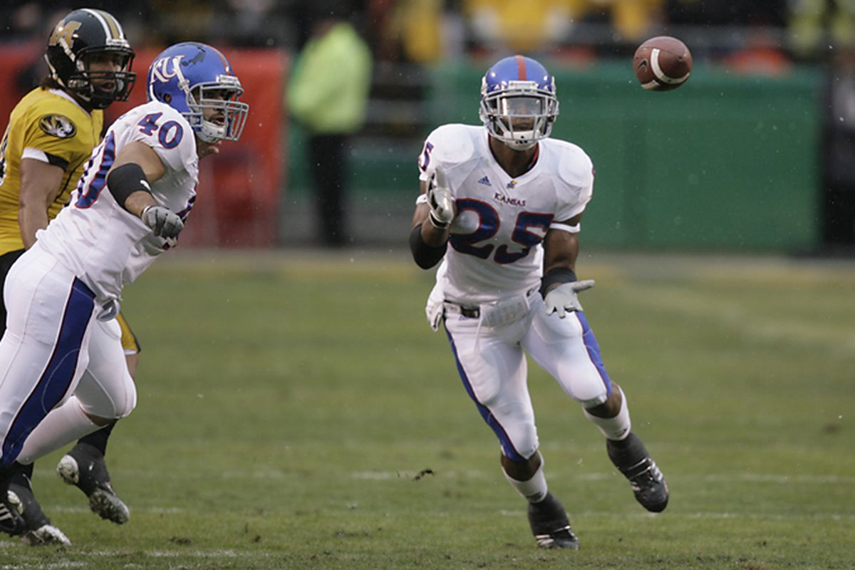 Darrell Stuckey will Look to Lead an Improved Kansas Secondary in 2009