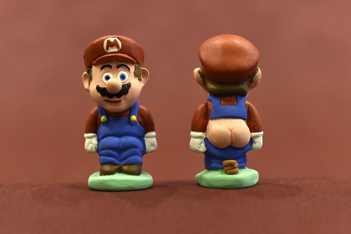 Mario caganer