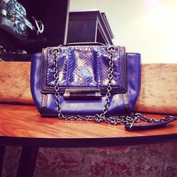 DVF crossbody bag, $235.