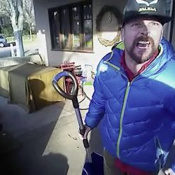 The Salt Lake police officer who shot and killed a shovel-wielding man Thursday was wearing an active body camera that captured a violent confrontation, but the actual shooting was not recorded after the camera was damaged.