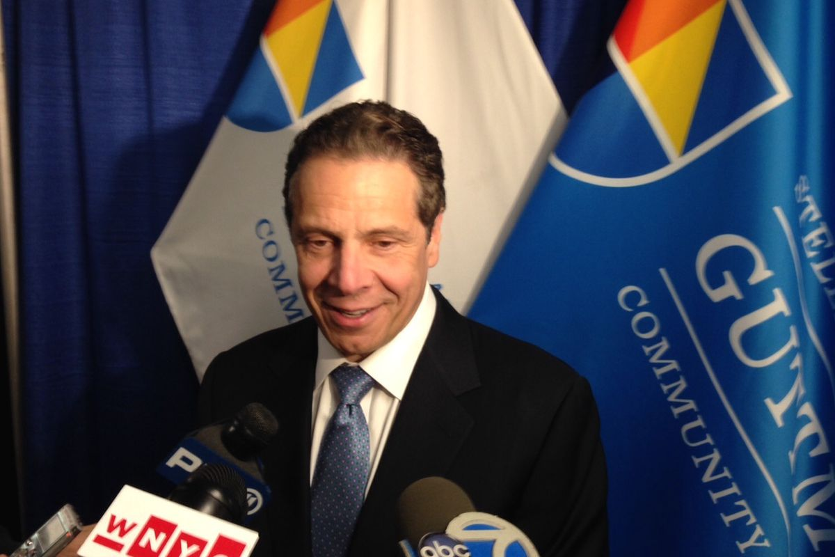 Governor Andrew Cuomo in April.