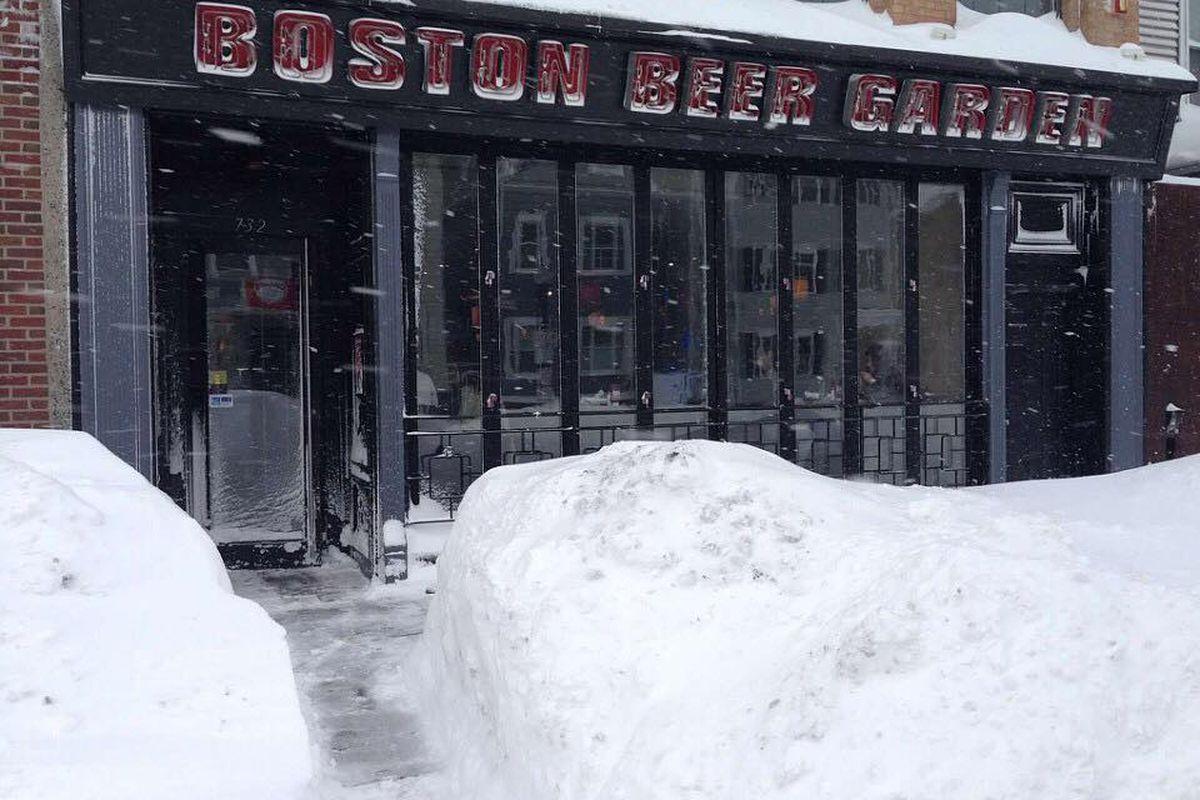 The Boston Beer Garden