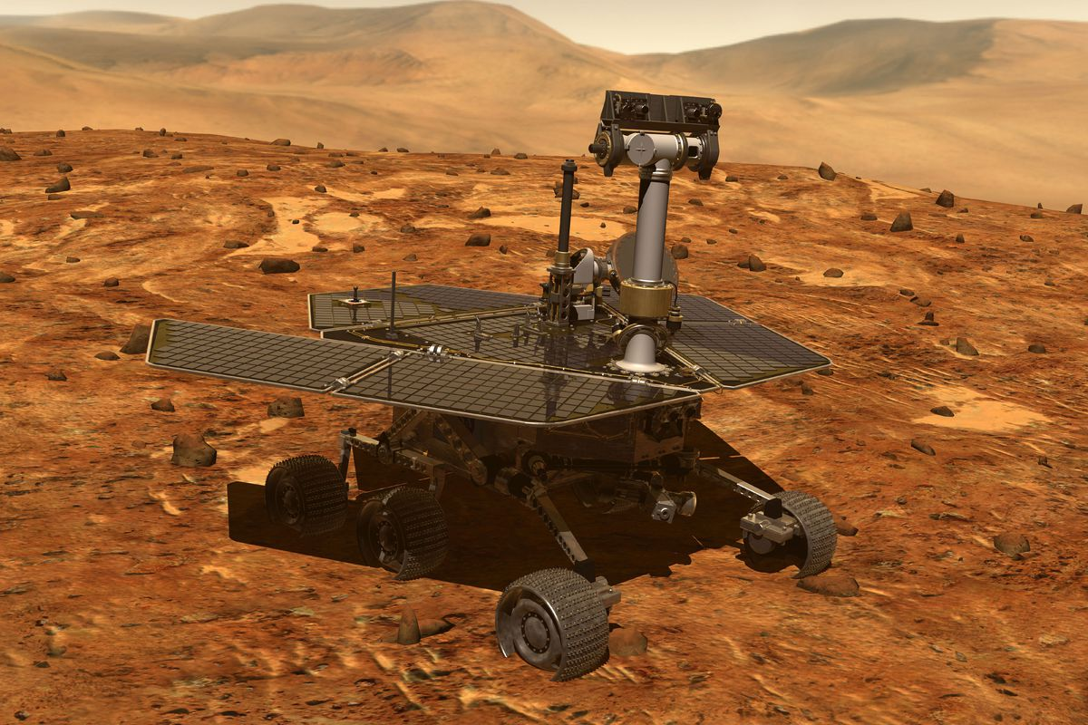 opportunity rover on mars - photo #7