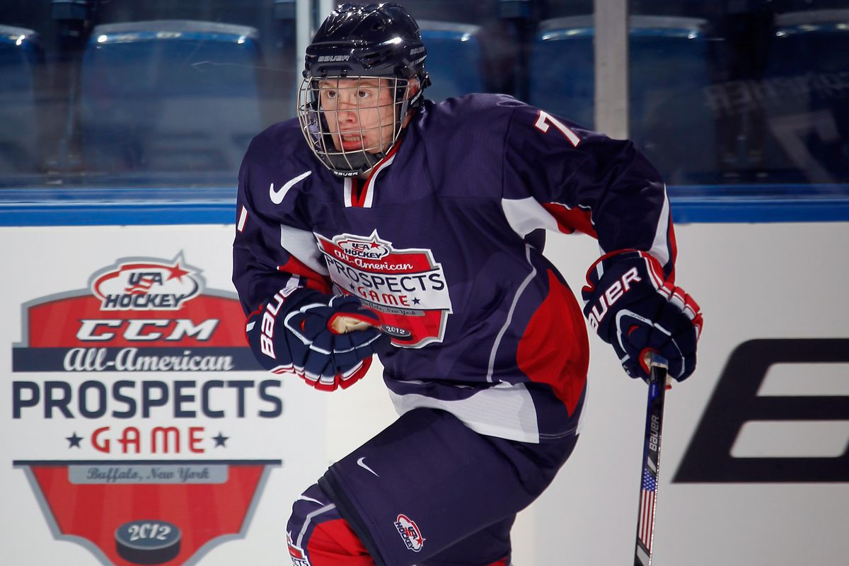 Michigan recruit JT Compher is a top draft prospect.