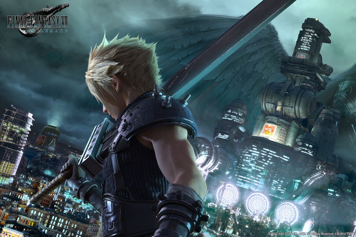 Cloud Is Front And Center In New Final Fantasy VII Remake Trailer