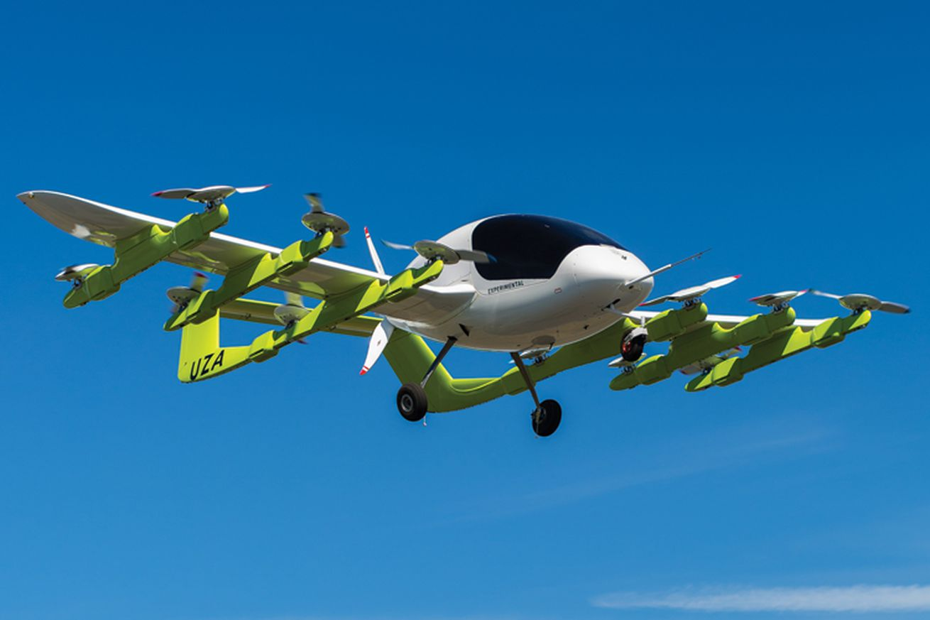 larry page backed kitty hawk partners with boeing on flying car development