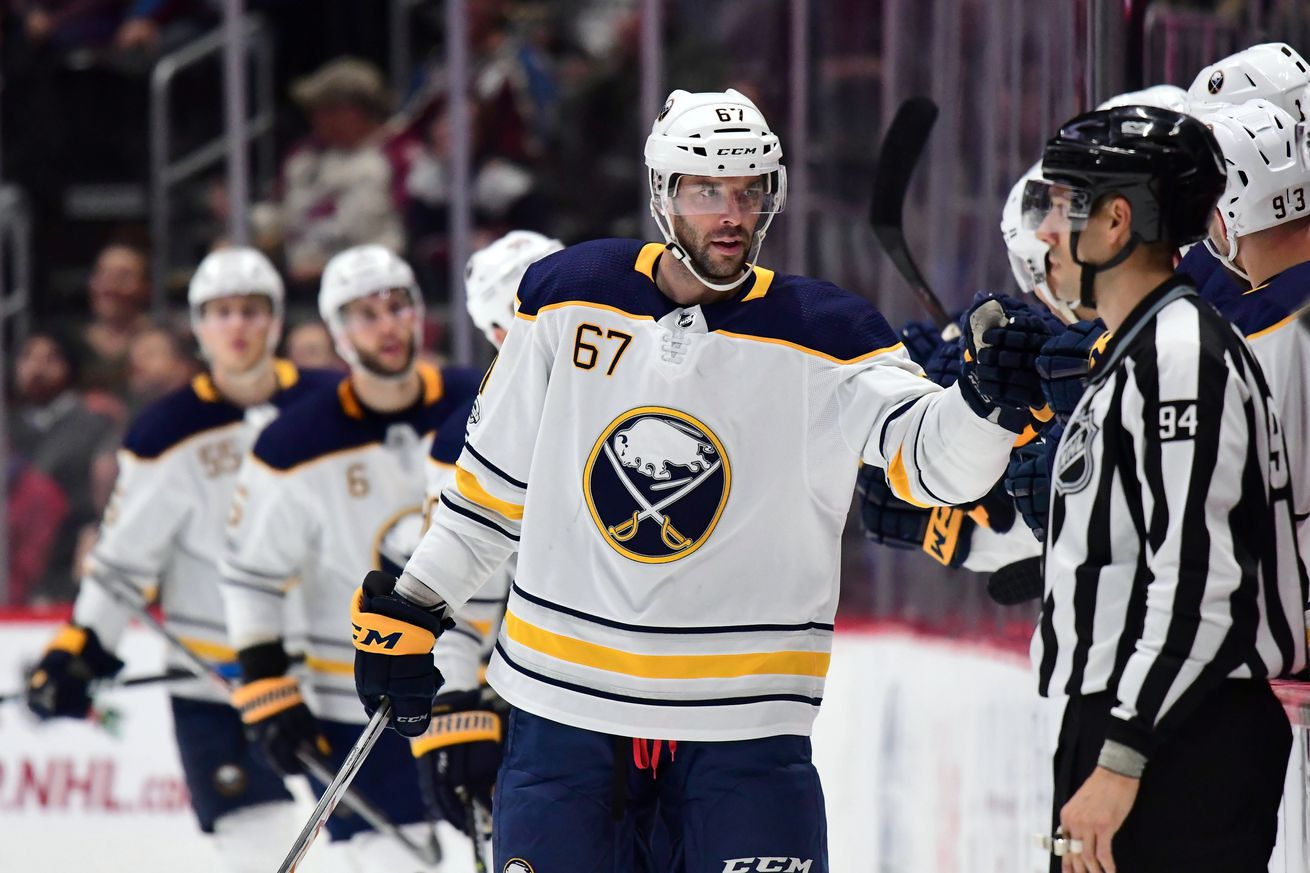 13aa02095 Can the Sabres get any trade value for Pouliot  - Ron Chenoy-USA TODAY  Sports