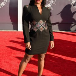 Not a favorite look, Uzo Aduba, but we love seeing you out there.