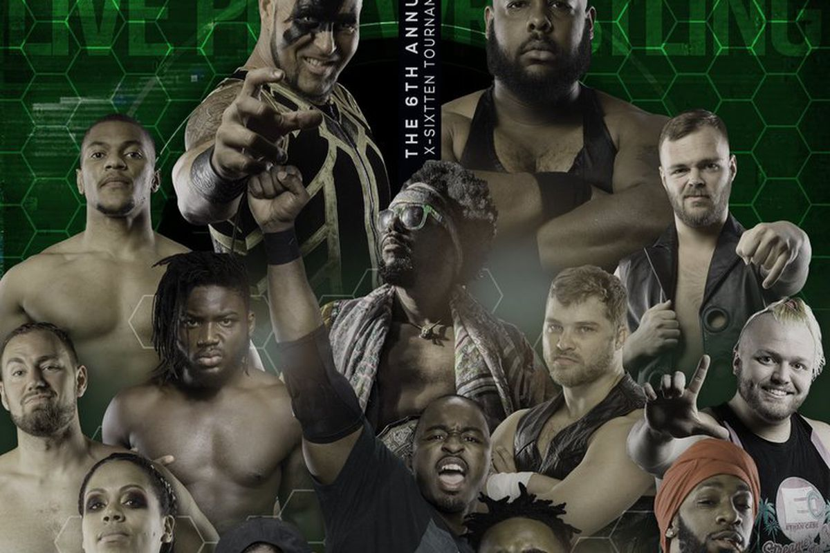 Poster for the 2021 PWX X16