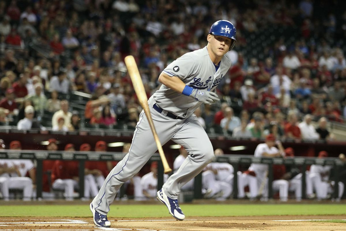 Maybe the Dodgers wanted to let Sands break the Albuquerque hit streak record before calling him back up