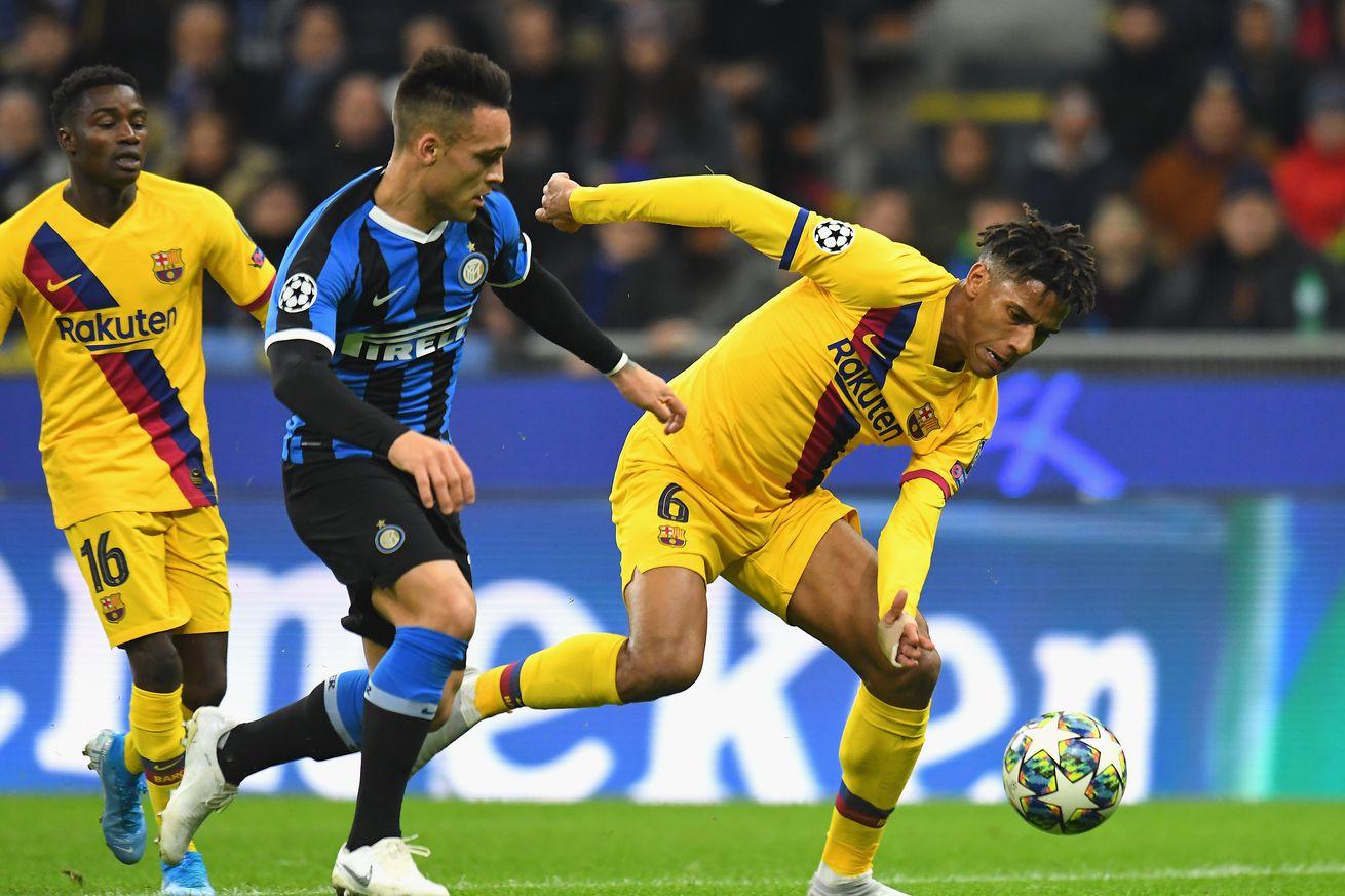 Inter 1-2 Barça: Recap