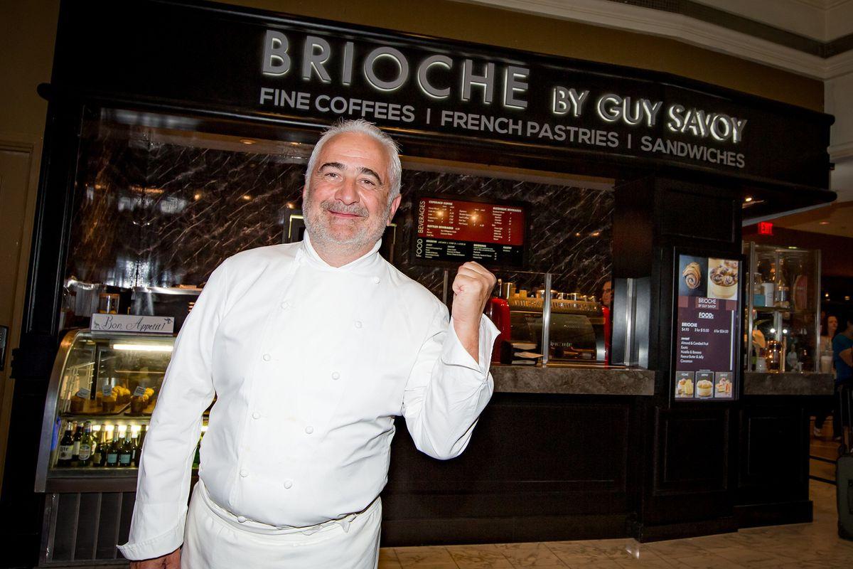Guy Savoy at Brioche by Guy Savoy