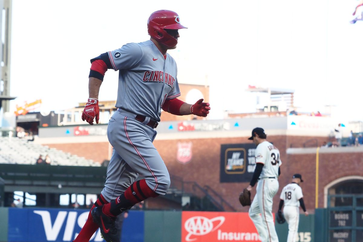 MLB: Cincinnati Reds at San Francisco Giants