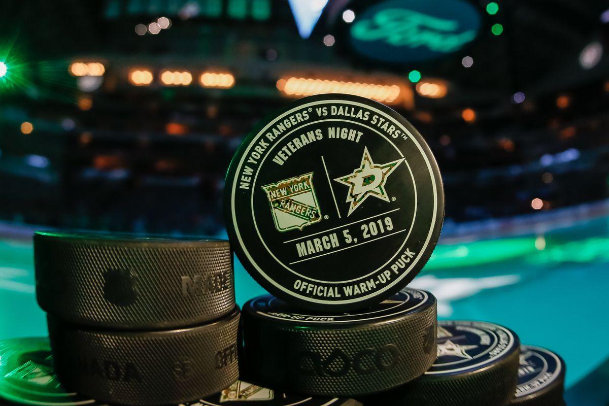 NHL: MAR 05 Rangers at Stars