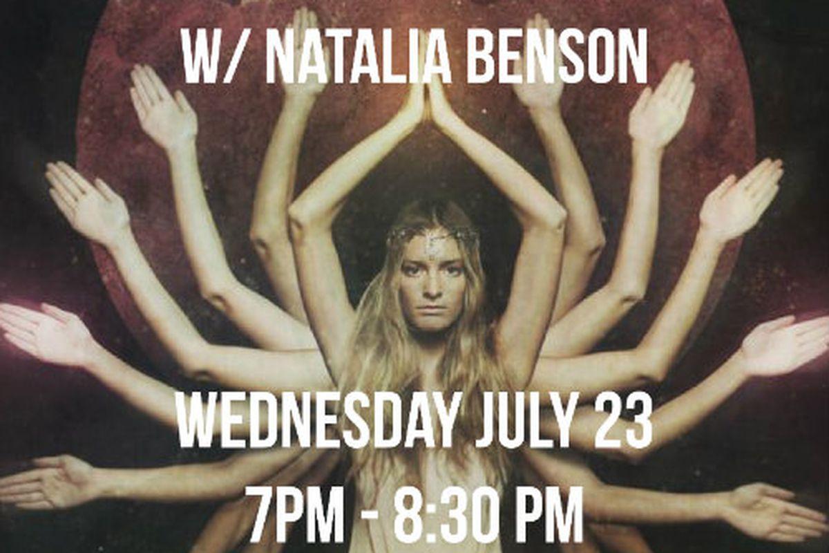 Flyer via Natalia Benson