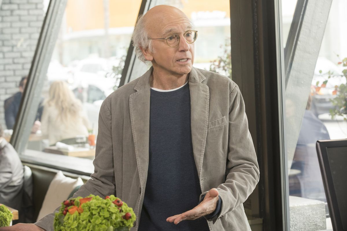 Larry David in 'Curb Your Enthusiasm'