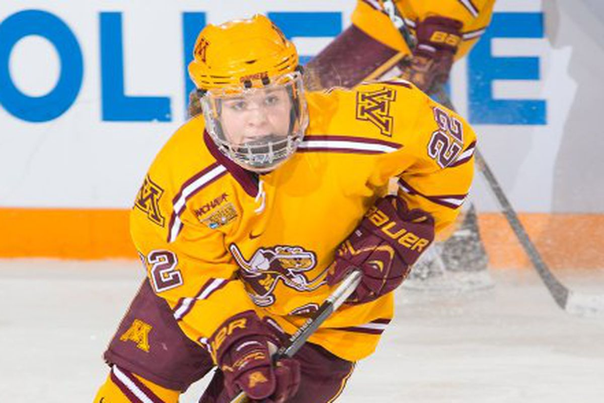 Hannah Brandt becomes the Gophers fourth three time First Team All-American