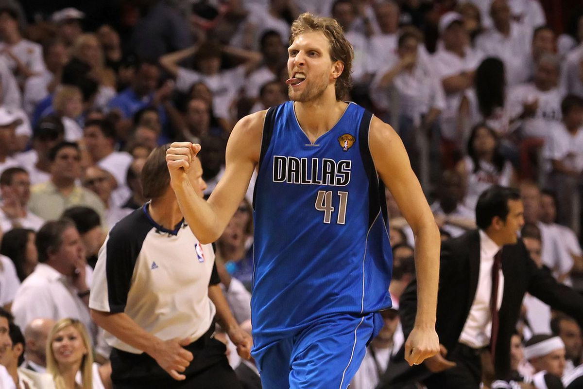 Michael Jordan says Dirk Nowitzki is one of the four modern