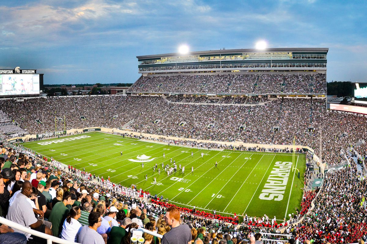 NCAA: AUG 29 Jacksonville State at Michigan State