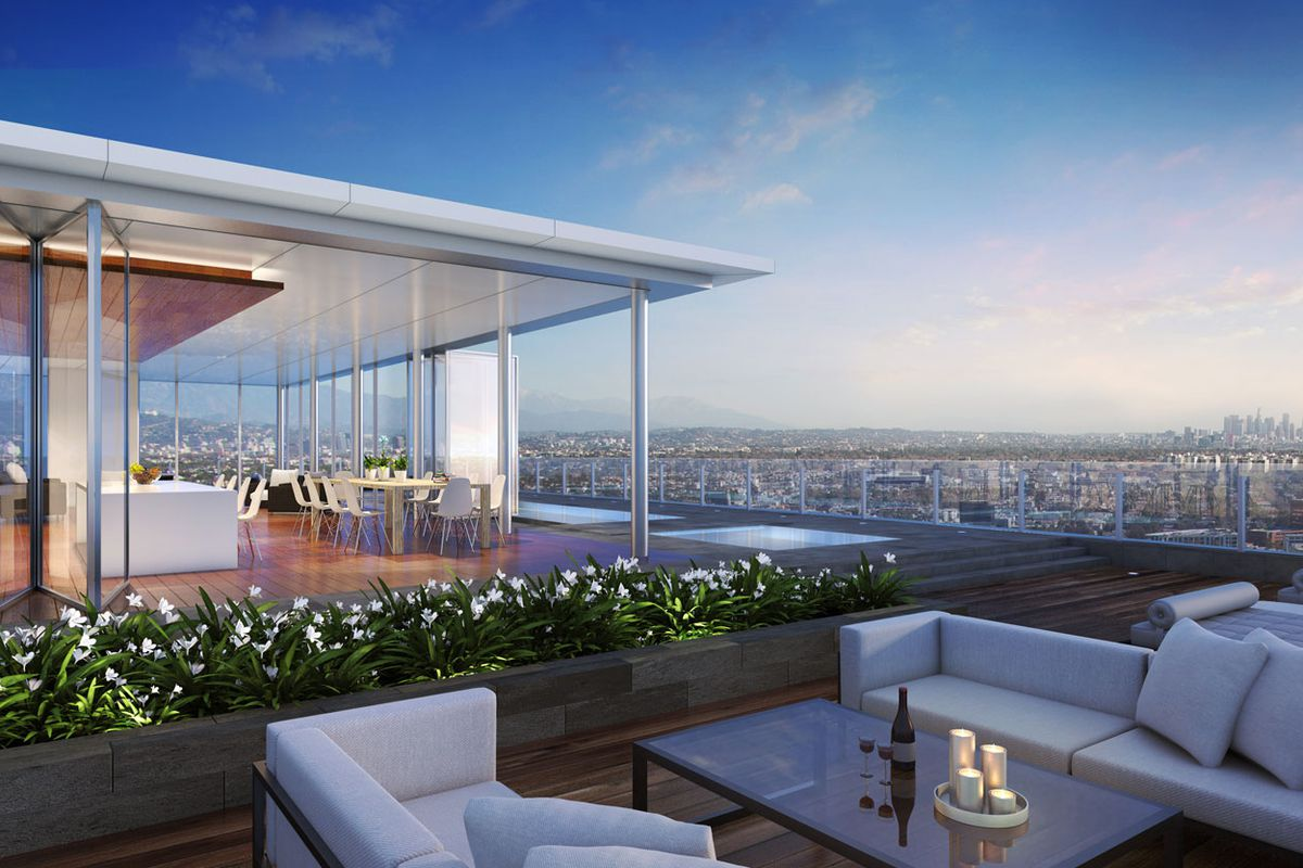 Enormous Unbuilt Penthouse Just Outside Beverly Hills