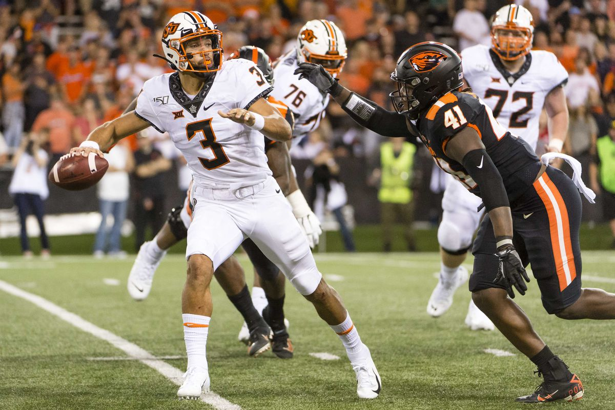 Oregon State Football Schedule 2020.Five Thoughts Oklahoma State S 2020 Football Schedule
