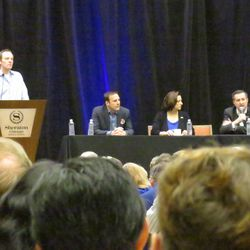 Ricketts family forum, moderated by Len Kasper