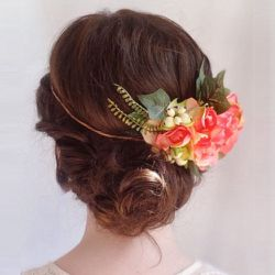"""""""I think modern wedding hair should be soft and natural but still elegant. Simple is key. You don't want your hair to overshadow you. I love adding flowers or combs to accent the style in place of a veil — they complete the look without appearing to be ov"""