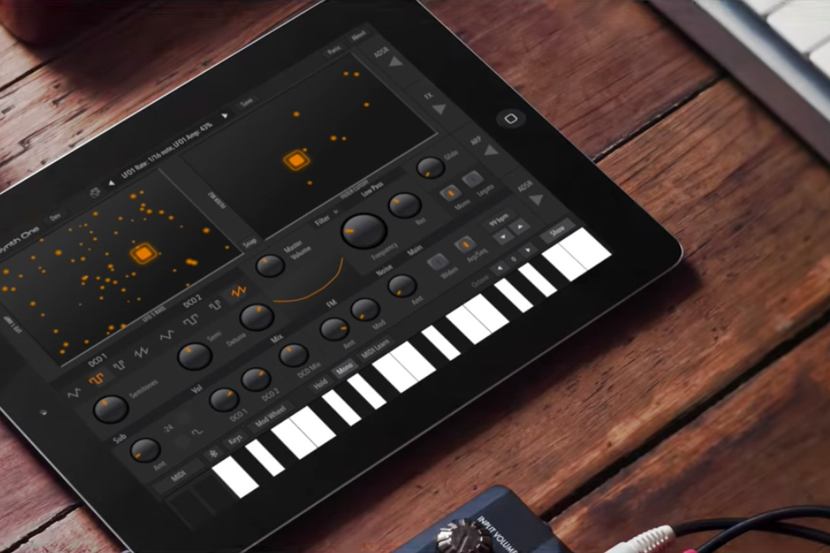 The AudioKit Synth One is a pro-level iPad synth that's completely