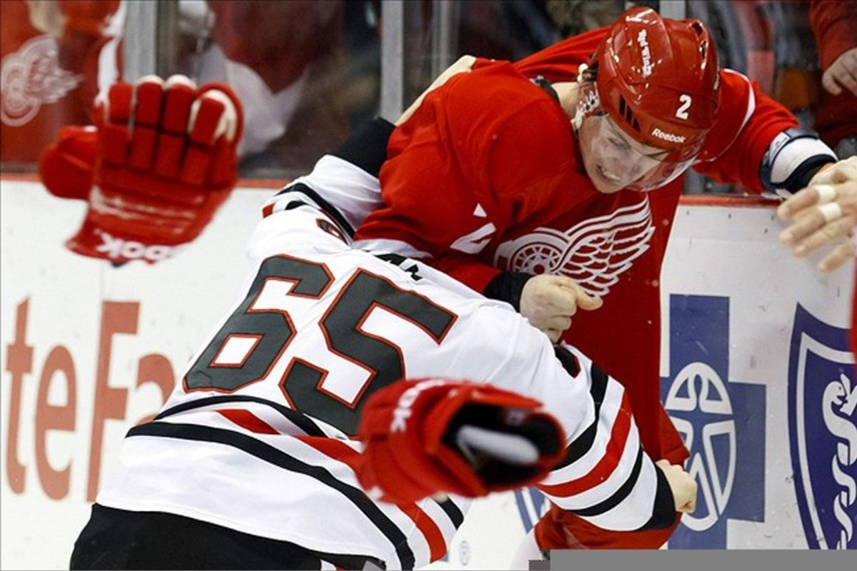 Brendan Smith's fists #Shawfacts