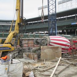 Another view along left field from Waveland