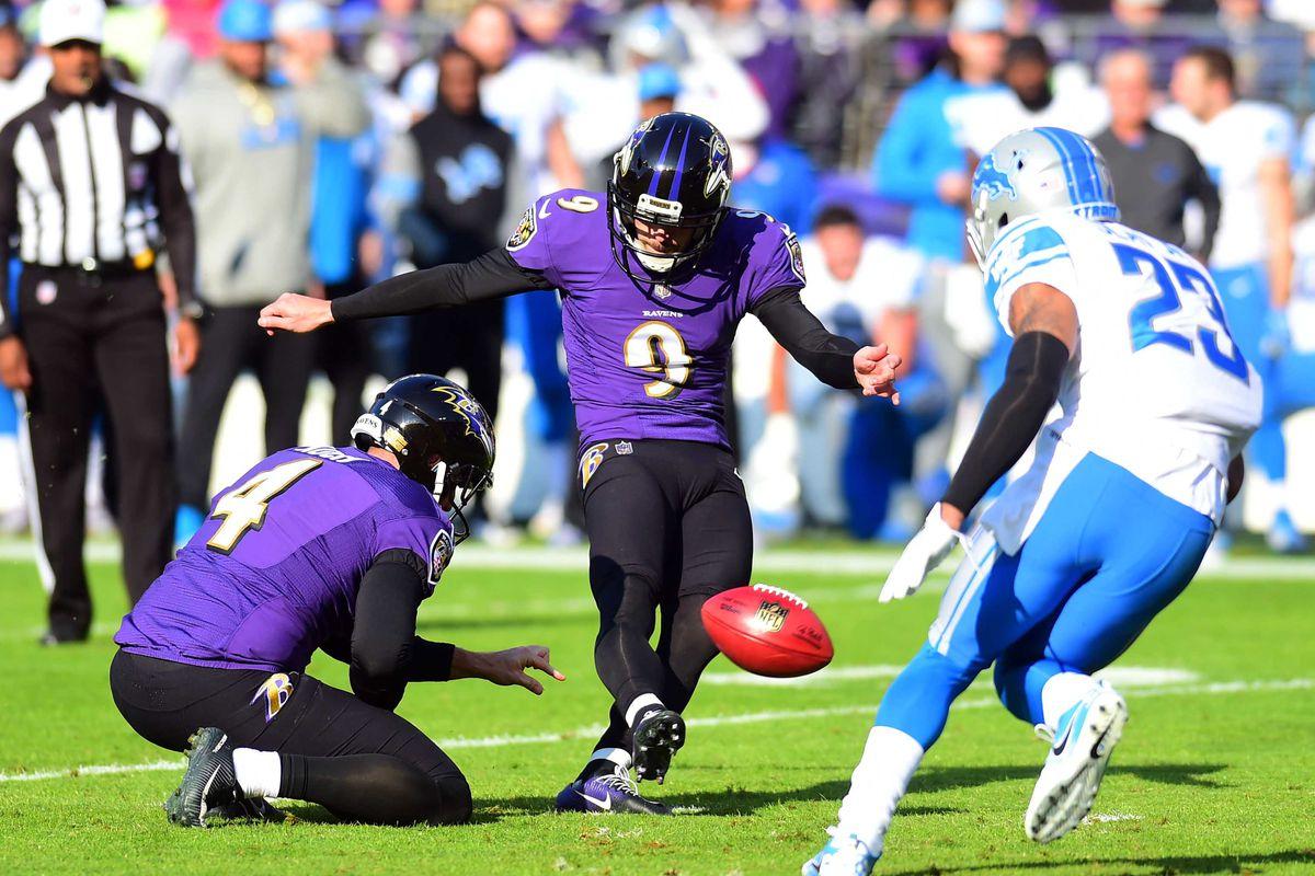 NFL: Detroit Lions at Baltimore Ravens