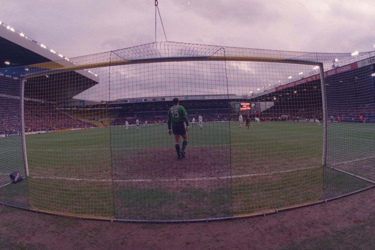 A general view of Elland Road, home of Leeds United