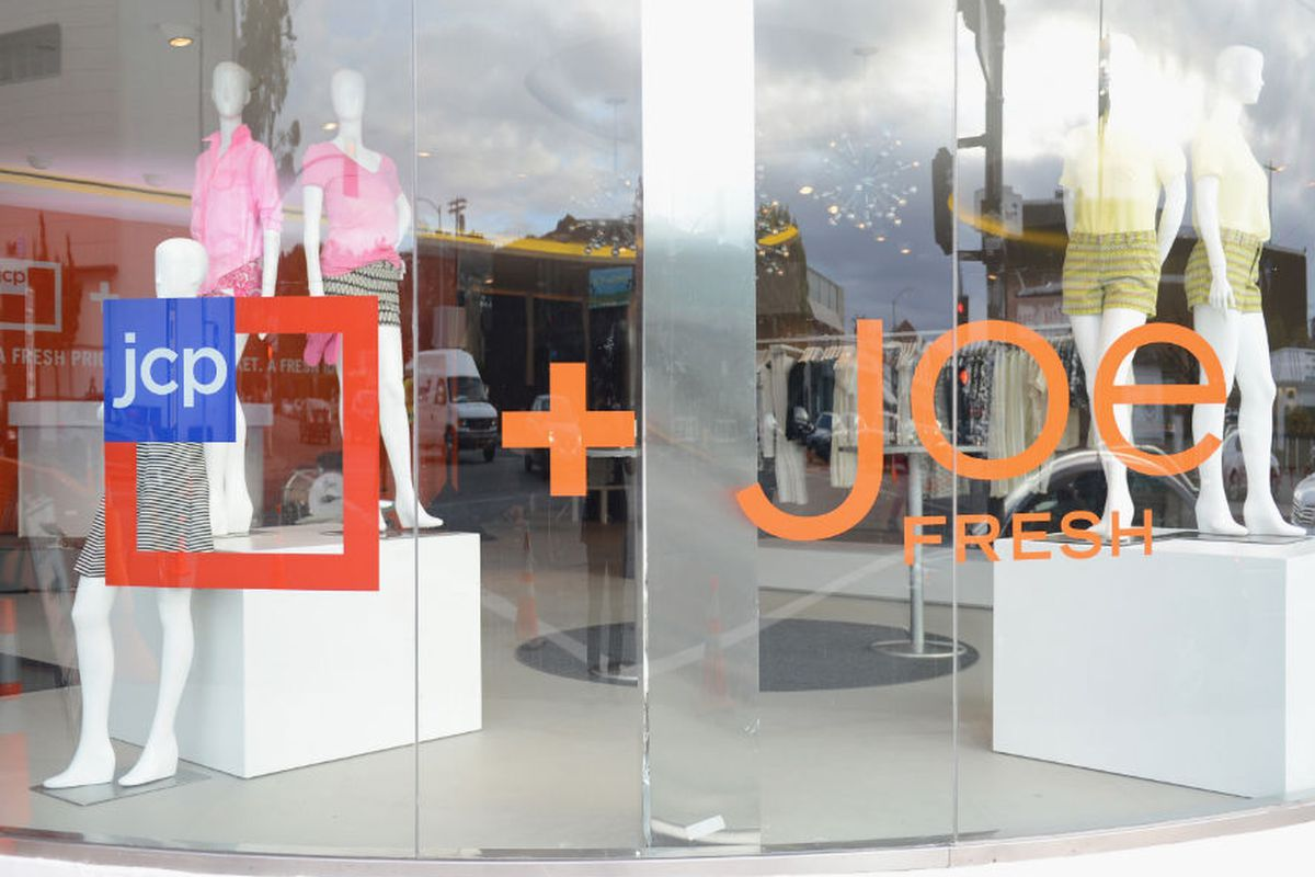 The Joe Fresh boutique at JCP Beverly Hills