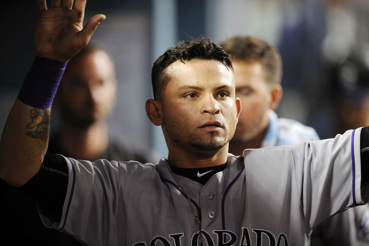 Gerardo Parra toiled for the Brewers from mid-2014 to mid-2015