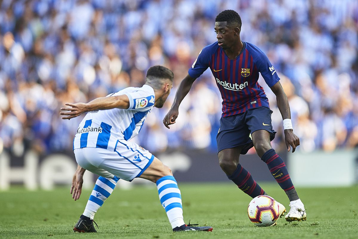 Real Sociedad Vs Barcelona La Liga Final Score 1 2 Second Half Comeback Gives Barca Huge Win At Anoeta Barca Blaugranes