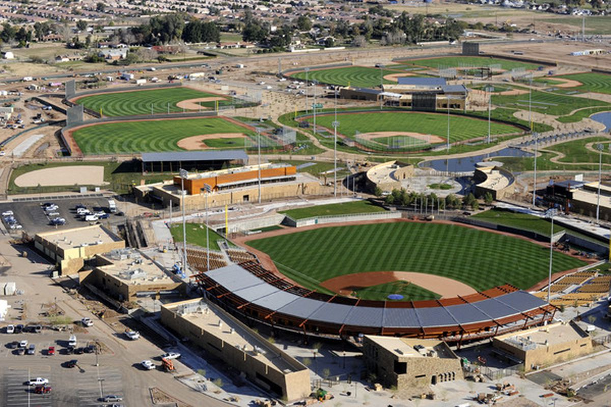 Spring training is finally here, as pitchers and catchers report to Camelback Ranch today (Photo: <em>LA Dodgers</em>)