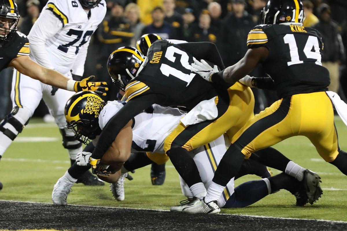 NCAA Football: Michigan at Iowa