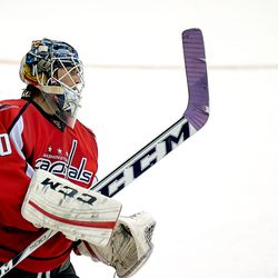 Holtby and Purple Tape